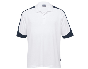 School Uniforms school wear - UNISEX SHOUDER PANEL POLO - DRI GEAR