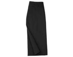 LADIES KNEE LINED SKIRT