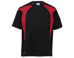 School Uniforms school wear - UNISEX SPLICED TEE - DRI GEAR