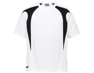 School Uniforms school wear - UNISEX SPLICED TEE - DRI GEAR
