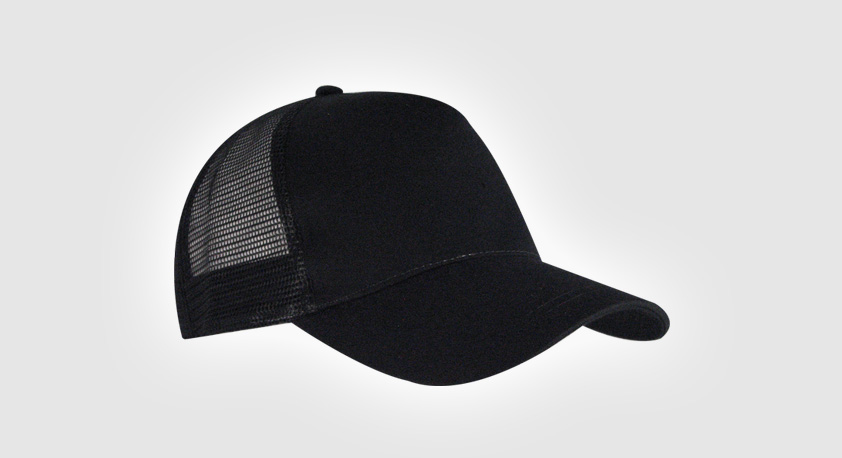 Cap Trucker - Black/Black