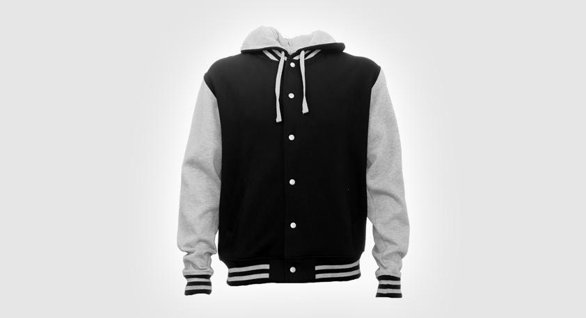 Jacket Letterman Hooded