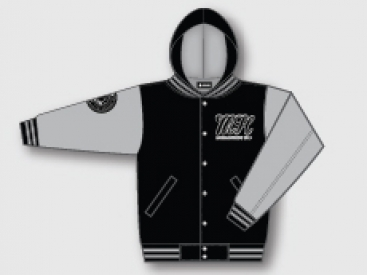 JACKET (LETTERMAN HOODED)