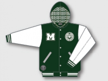 JACKET (CLASSIC VARSITY HOODED)